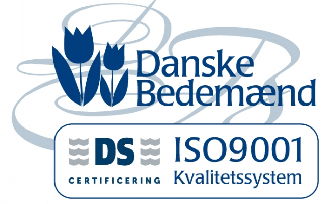 Certificeret bedemand – ISO9001